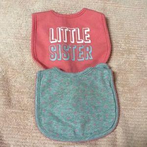 Other - Baby girl bibs
